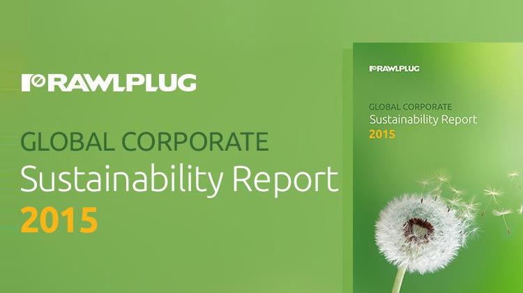 Rawlplug is proud to publish its inaugural annual Sustainability Report